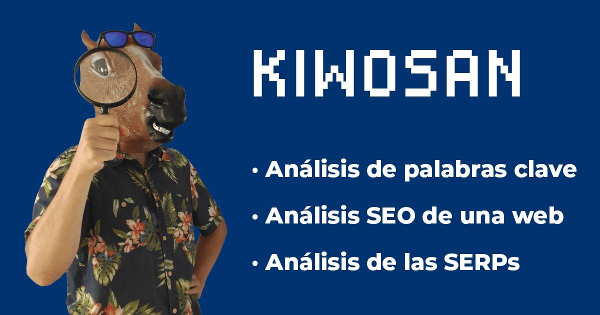 kiwosan herramienta palabras clave