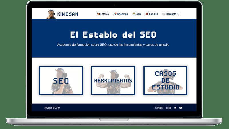 Análisis SEO de una web en kiwosan