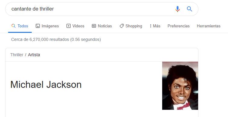 relacion entidad michael jackson