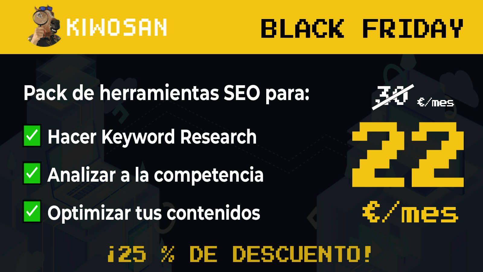 Oferta Black Friday Kiwosan 2.0