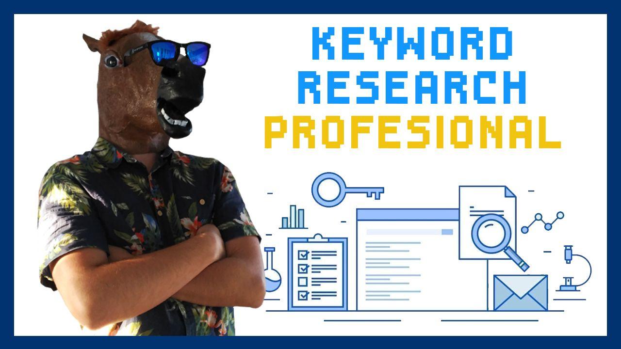 cómo hacer un análisis de palabras clave profesional